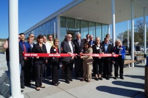 Regional Partners Cutting Ribbon